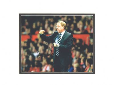 Harry Redknapp Autograph Signed Photo